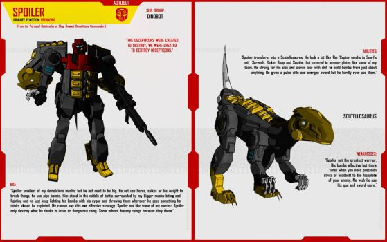 DINOBOT SPOILER by F-for-feasant-design