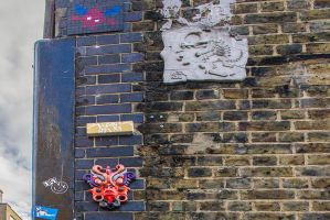 14-10 London #29 - wall decoration by evionn