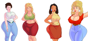 King of the Hill Women - Commission by 5ifty