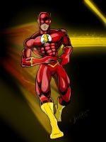 FLASHHH color by CThompsonArt