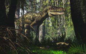 Torvosaurus and Fruitadens by PaleoGuy