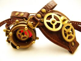 Steampunk Monogoggle 5-1 by AmbassadorMann