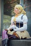 Need some friends. Mami  cosplay, Madoka magica by Giuzzys