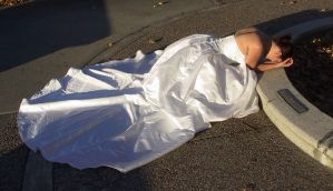 White Gown Terra 29 by Falln-Stock