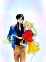 usagi and mamoru - this Love by zelldinchit