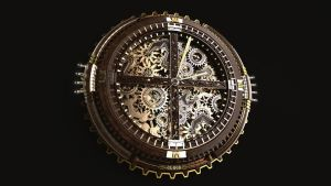 Clock Steampunk by Panico747