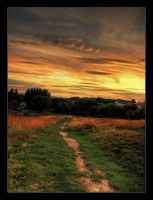 Down the path.. by NorwegianAnette