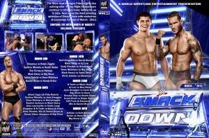 WWE SmackDown March 2012 DVD Cover by Chirantha