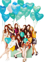 Girls Generation Png by thisisdahlia