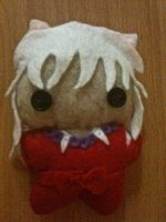 Inuyasha Plushie by CheesyHipster