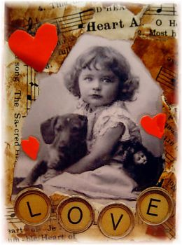 Puppie Luv by Bohemiart