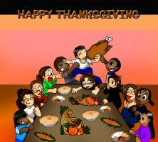 HAPPY THANKSGIVING by RAYRAY2