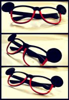 Mickey Mouse Inspired Glasses by HulloSunnyDay
