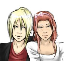 Mike and gazettefangirl12 by iyka
