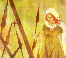 Celtic Druid Boudica by fearn