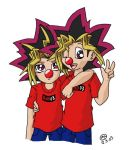 Red Nose Day Yugioh Style by mellie-chan