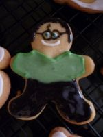 HARRY POTTER cookie by Marce07