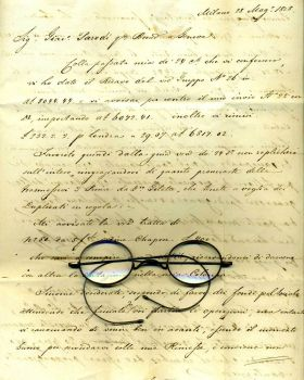 Vintage letter,specs stock by rustymermaid-stock