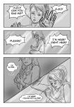 In the dark hours, remember you're not alone pg 2 by CleopatraDiNekomata