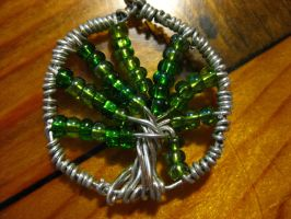 First Attempt-Close Up-Wire wrapping by DanikaMilles