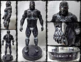 Crysis Nanosuit Papercraft by Mironius