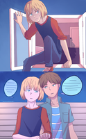 Eremin week - day 4 - Secret Rendezvous by KatInATopHat
