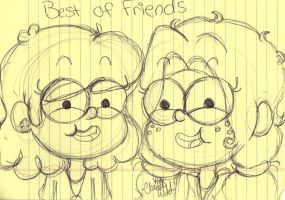 BEST BUDS by Grilledcheeselover