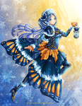 Winter Butterfly by Eranthe