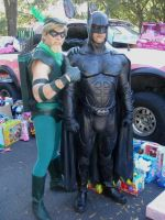 Batman Toys for Tots day by Rage126
