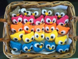 Nest of Owls by magical-chickens