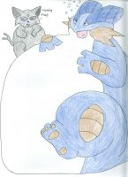 swampert and espion by FierceDeityFox