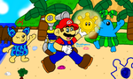 Super Mario Sunshine by MarioSimpson1