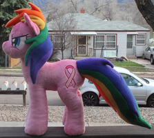 Breast Cancer Awareness Pony by AlexGoneLoco