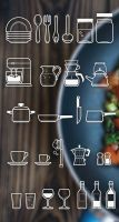 Free Cutlery Icon Set by Designslots