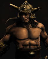 King Conan by leseraphin