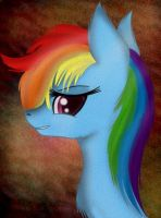 Some rainbow horse. by jazzy-rose-hxc