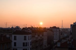 The sunrise from my windows by StefanyKK