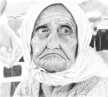 Old Lady by kawaabung