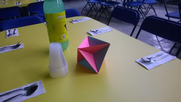 Origami Table 5 by mxremi