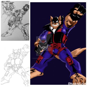 Another Favorite show - T-Bone from the Swat Kats by PhoenixBlue33