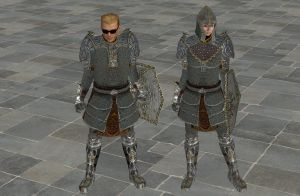 'TES4: Oblivion' Mithril Set XPS ONLY!!! by lezisell