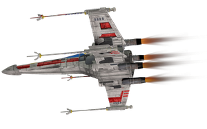 X Wing 2,7 by Cyborgerotica