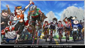 Balto: Reach for the Finish Line by alphaleo14