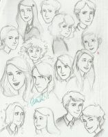Marauders era sketches by IzziBelle