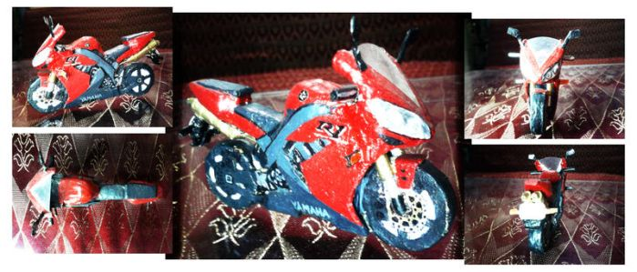YZF-R1 paper bike by IndraNeil