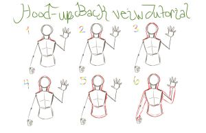 Hood-Up Backview Hoodie Tutorial by ReiGodric