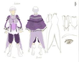 Character Design- Lucius by SirLadySketch