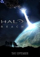 Halo: Reach Movie Poster by JaYn0