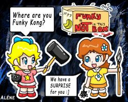 Have you seen Funky Kong? by AleneStar