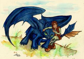How To Train Your Dragon by Leeuwtje